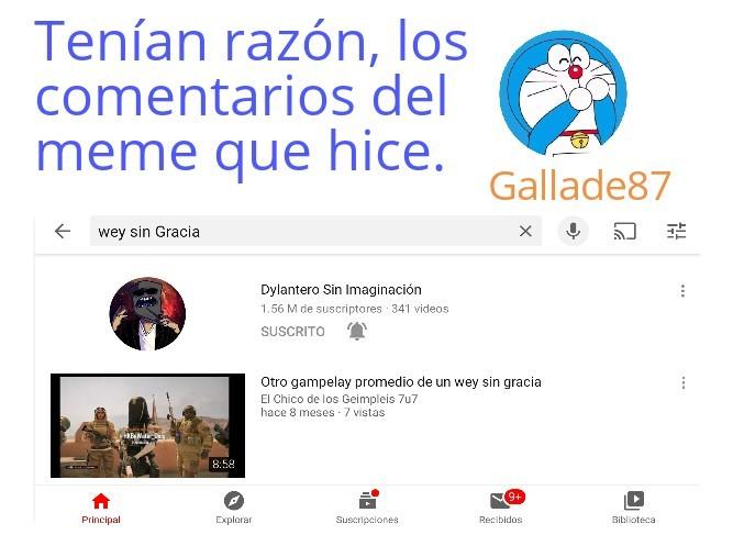 Wey sin gracia - meme