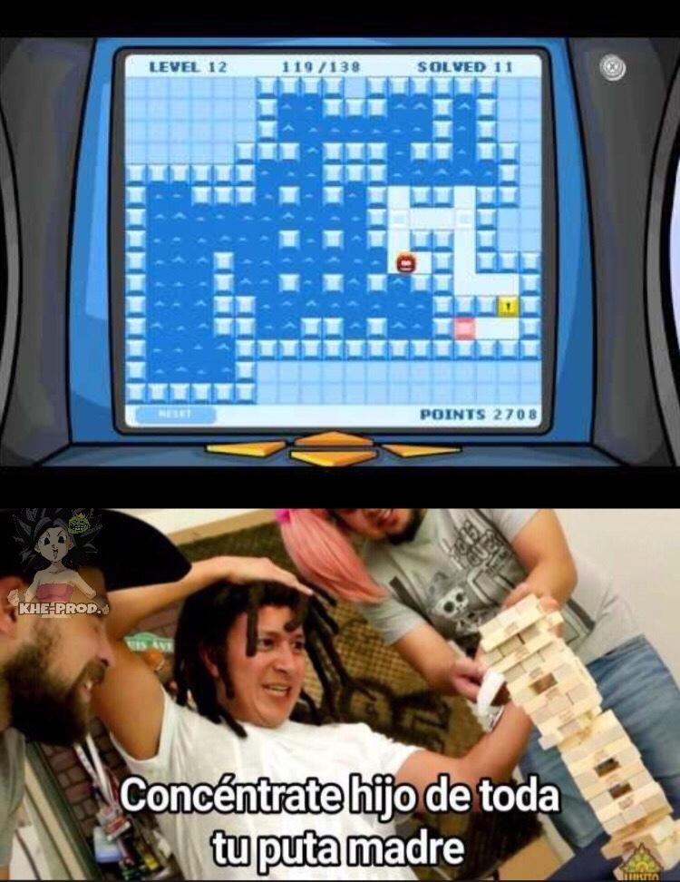 Todos los pros recordarán el juego :) - meme