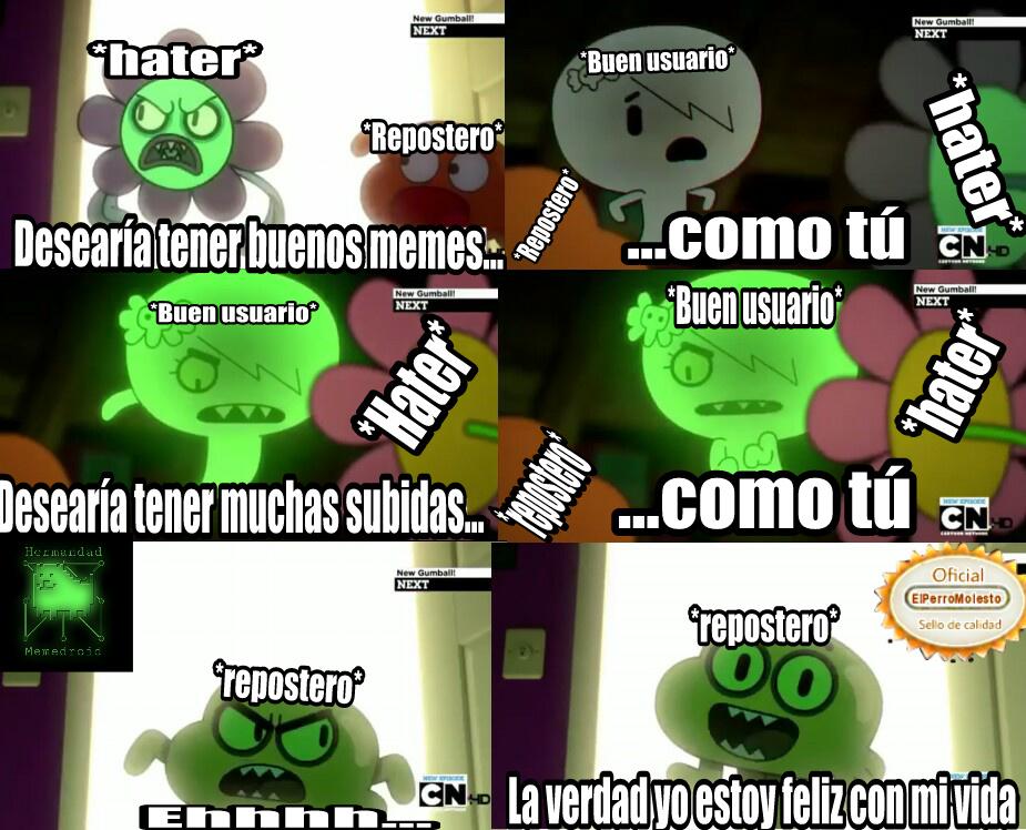 Nueva Plantilla ;-; - meme