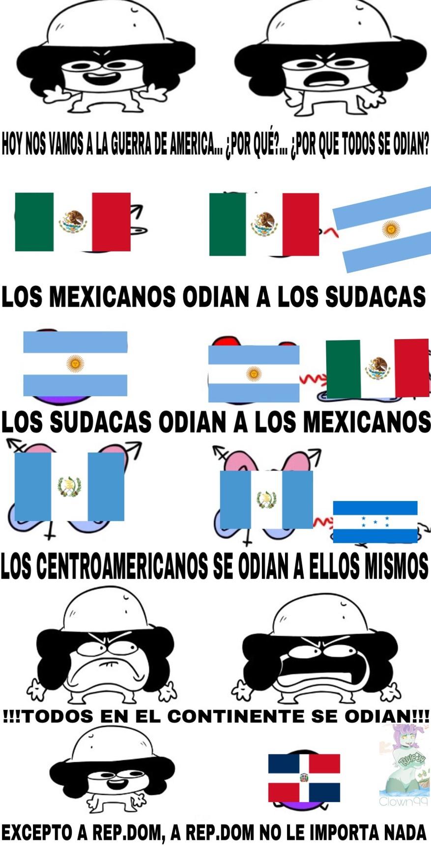 En mi país los recibimos a todos con los brazos abiertos - meme