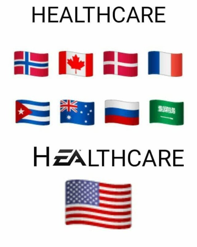 US Healthcare - meme