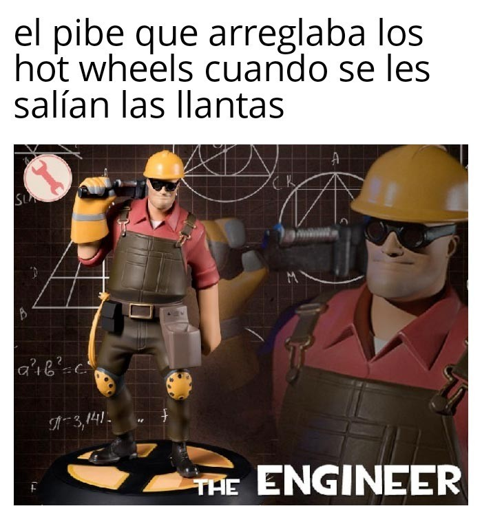Así es yo arreglaba hot wheels - meme