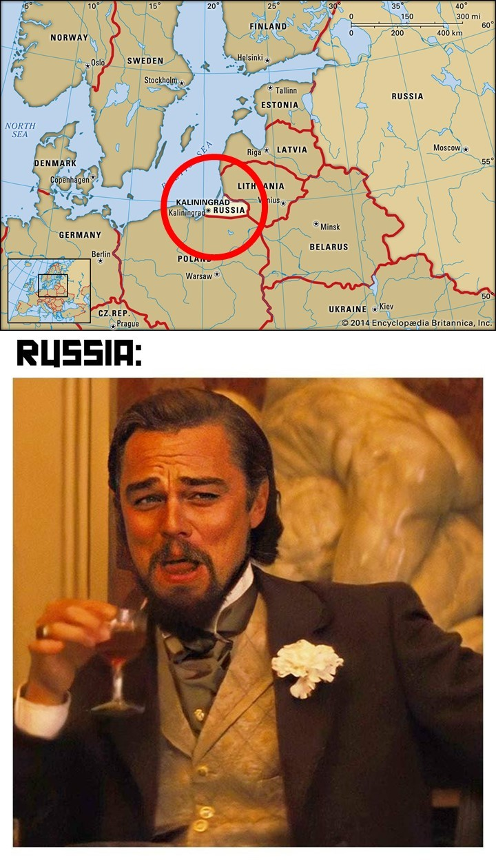 """Russia is a Riddle Wrapped in a Mystery Inside an Enigma"" - meme"