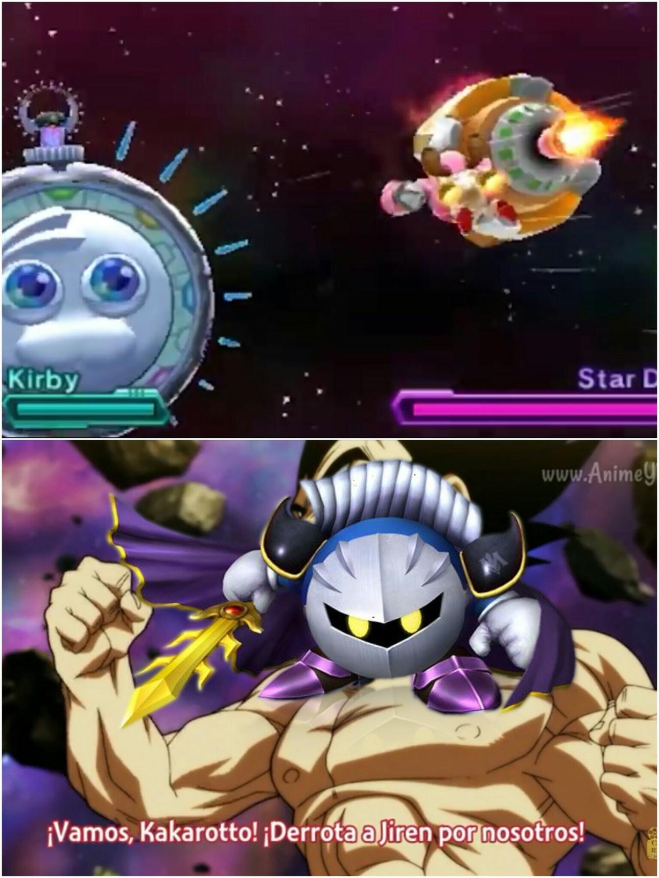 Kirby planet robobot - meme