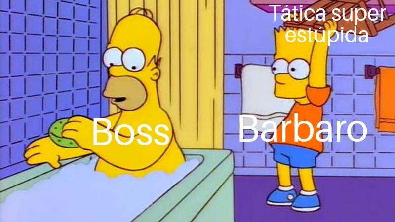 Porra barbaru >:( - meme