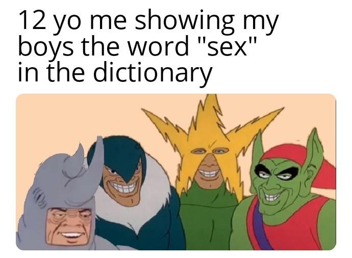 O shid - meme