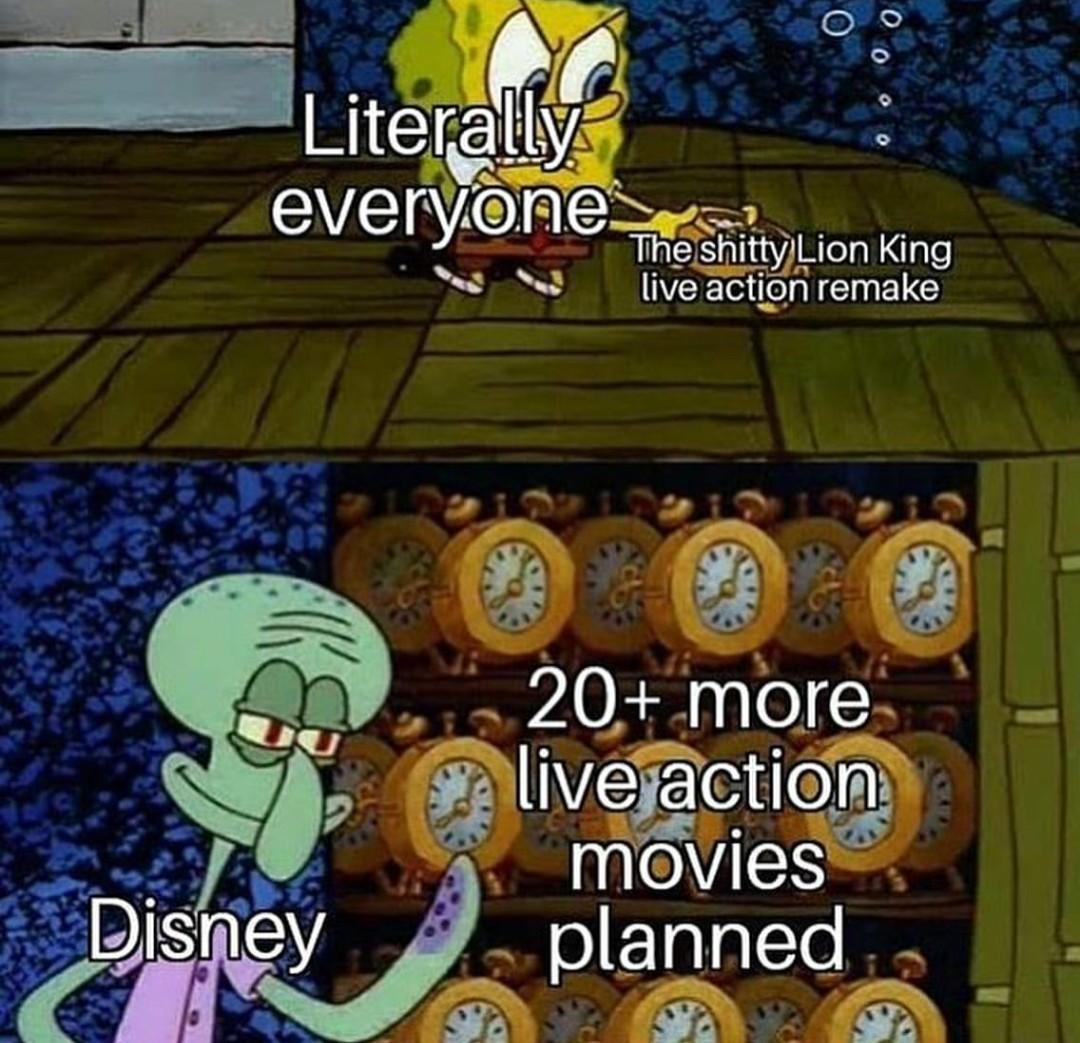 Disney on its bs - meme