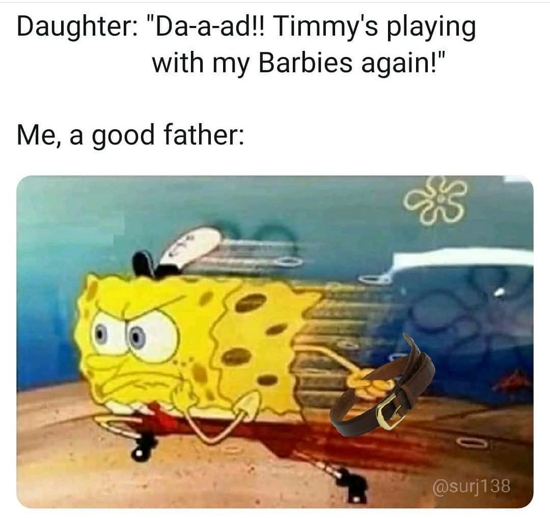 Quality parenting - meme