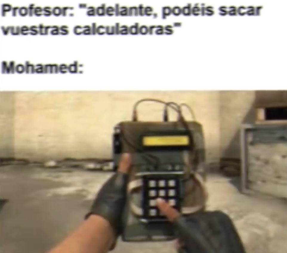 me llamo Mohamed - meme