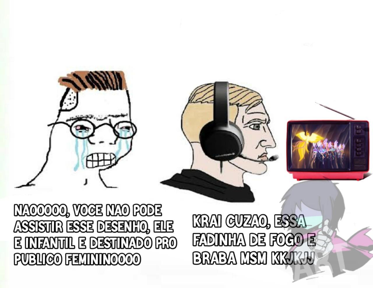 Esse modelo de meme é uma merda, e Winx era daorakkkjj