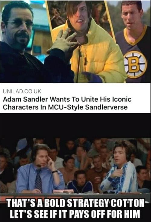 A damn Sandal - meme