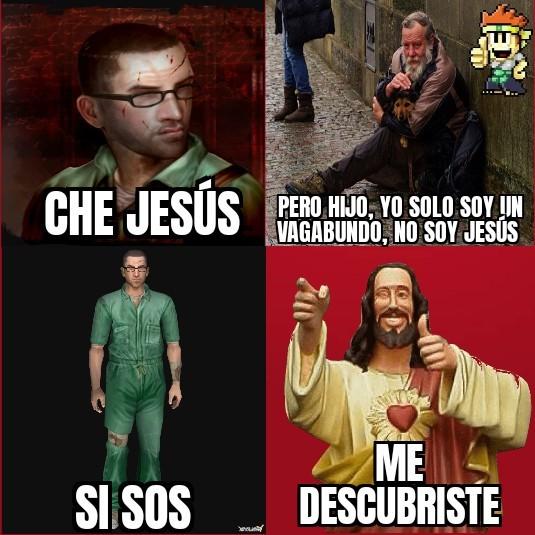 Contexto:en las reflexiones casi siempre se representa a Jesús como a alguien que necesita ayuda, por ejemplo un vagabundo - meme