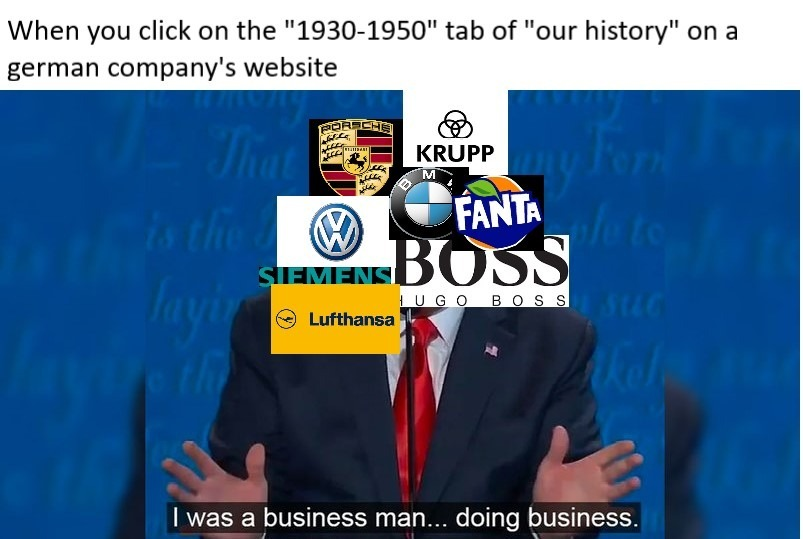 Helpful companies helping its country - meme