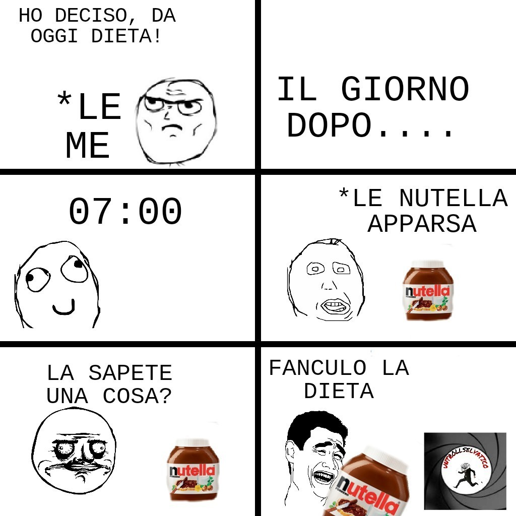 Dieta - meme