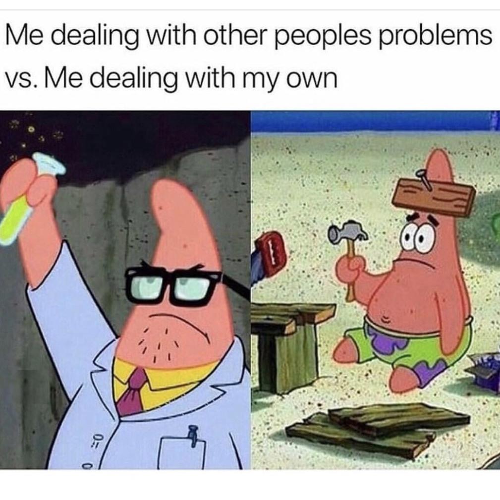 Patrick scientist!! Or not? - meme