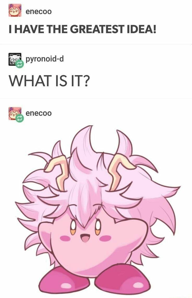 Mirby - meme