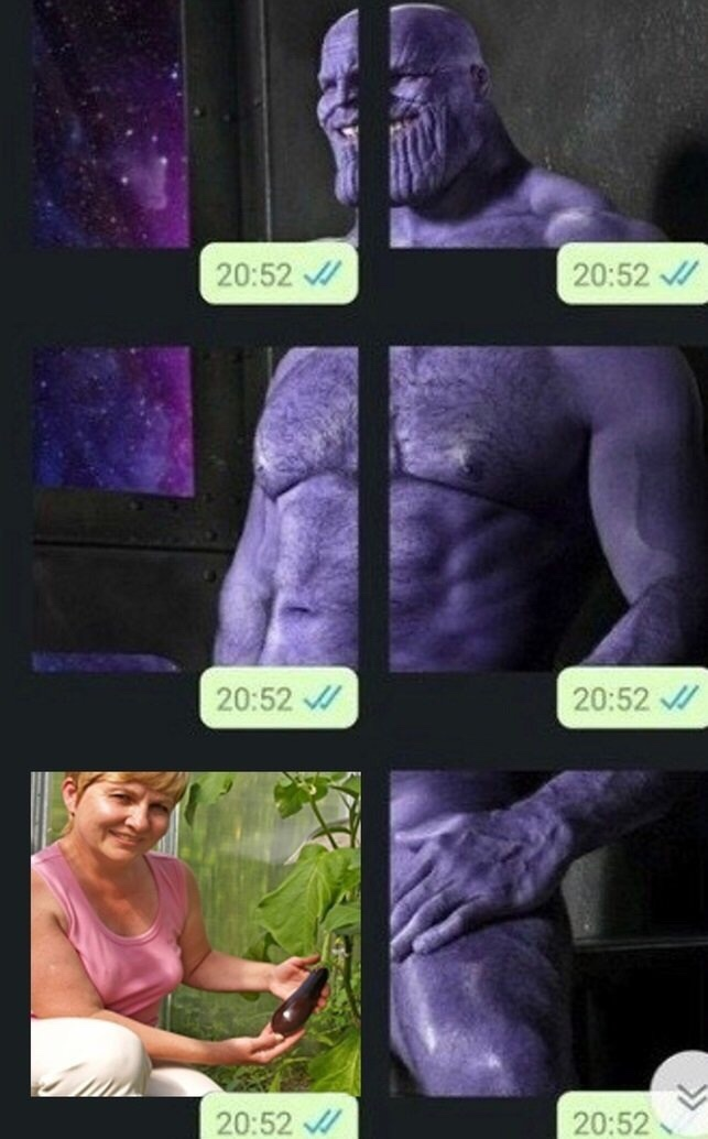 daddy thanos is coming soon - meme