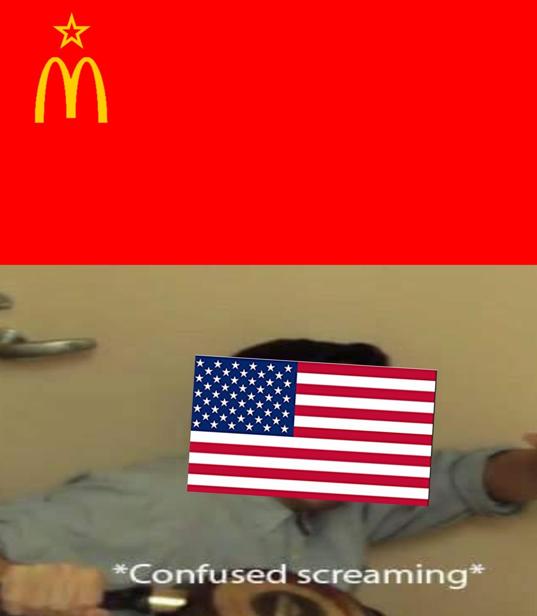 *himno sovietico de fondo* - meme
