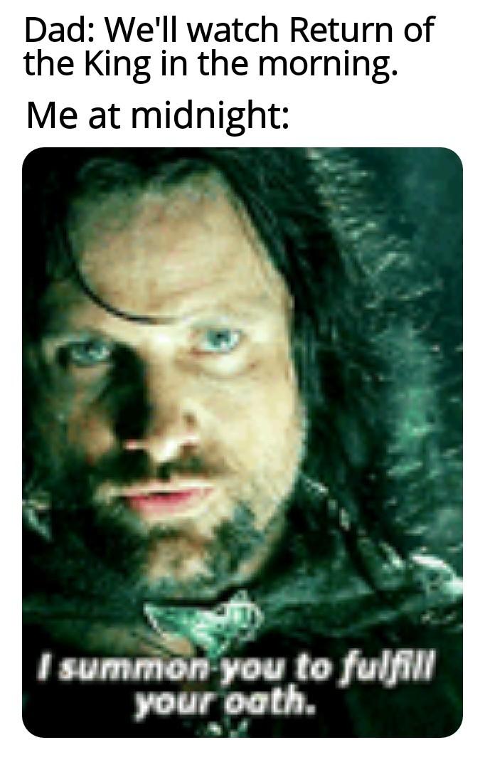 Aragorn - meme