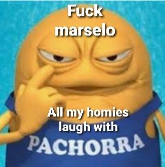 Para los que no sepan, Pachorra es la mascota de un yogur argentino llamado Yogurisimo - meme