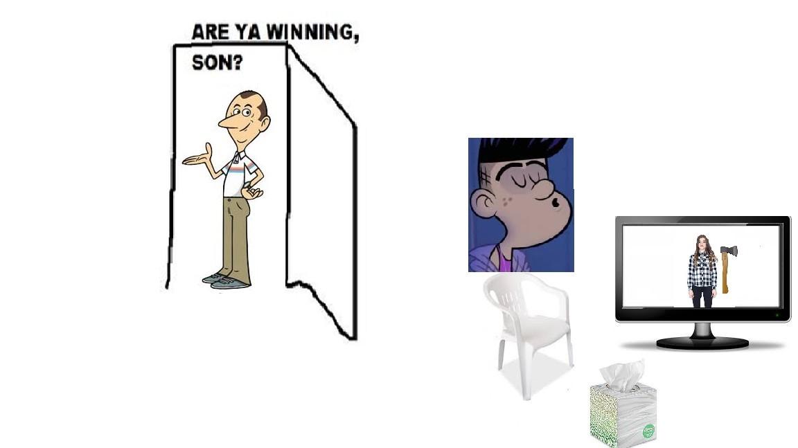 Este bradd es un virgen - meme