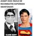 Il met son masque mais pas lorsqu'il est super héro