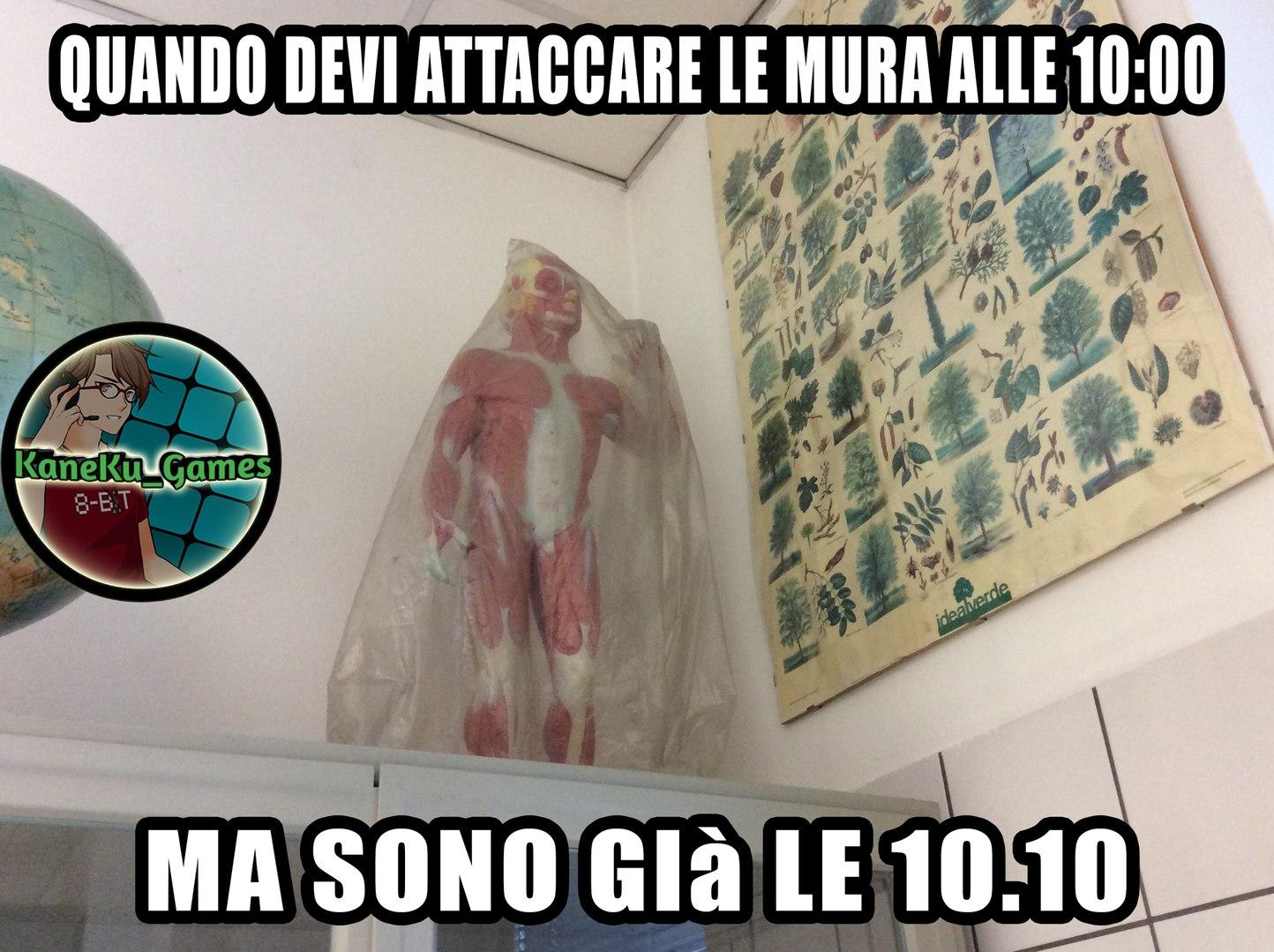 L'ATTACCO DELLA CHIMICA - meme