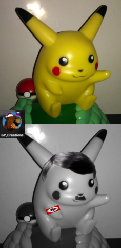 Heil Pikachu! - meme