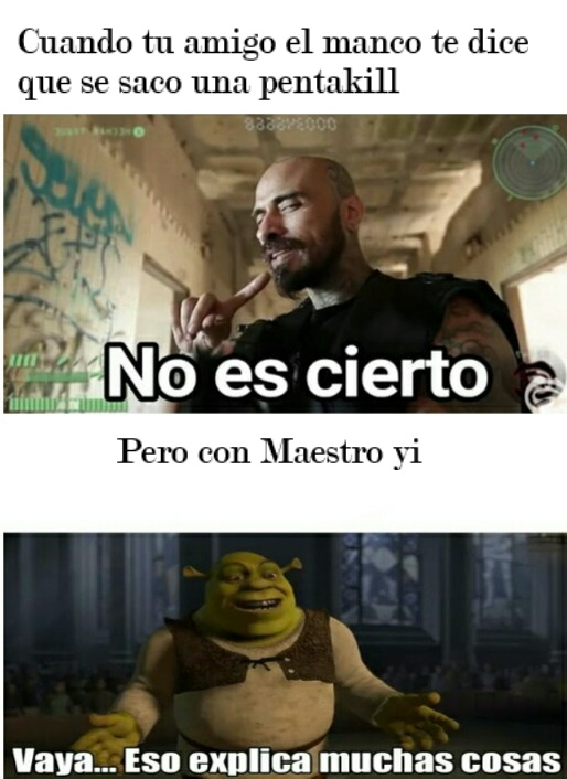 Es de league of legends - meme