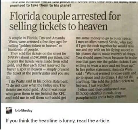 Florida at it again - meme