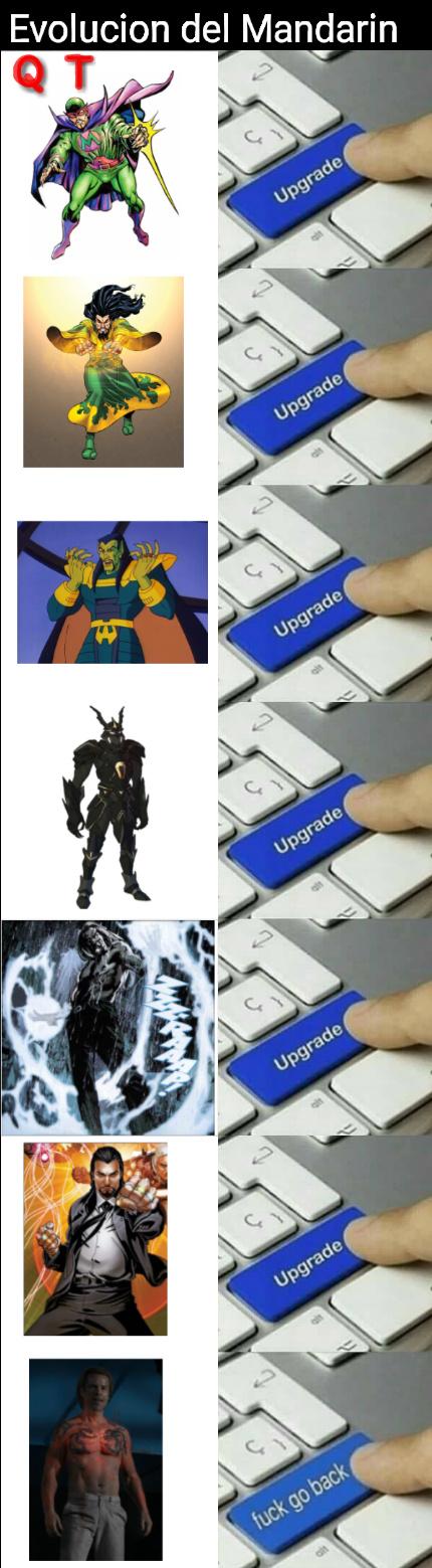 A ver si sale en Avengers 4 - meme