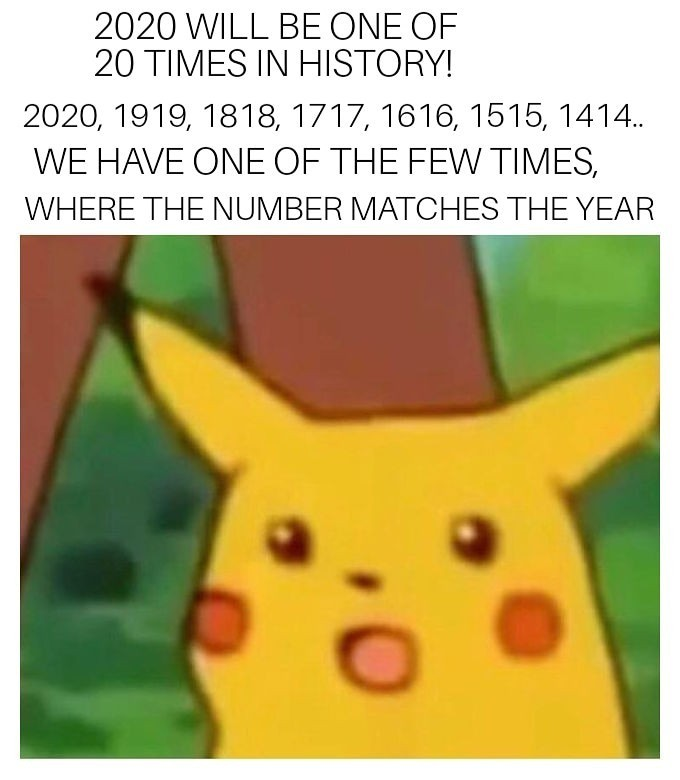 2020 is almost here! - meme