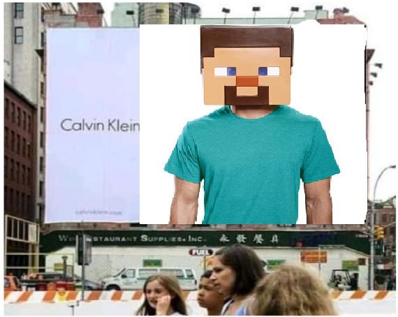 calvin klein - meme