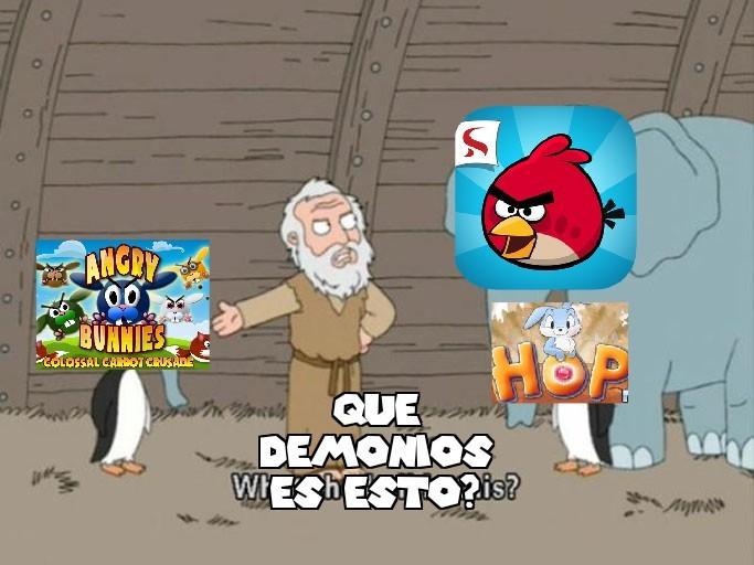 El pinguino de hop lo puse porque no se me ocurrio otro juego de conejos (por cierto, tres memes de angry birds!? Gracias moderadores!)
