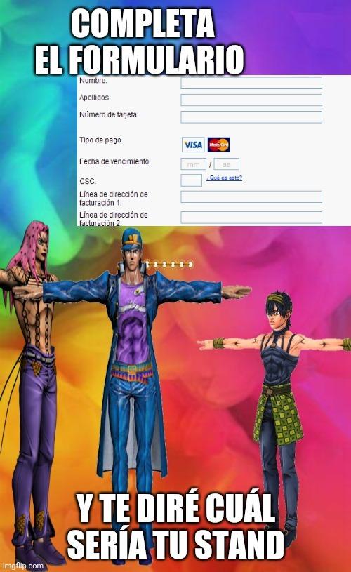 Completa el formulario - meme