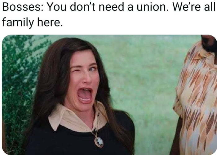 Also we're not going to pay you a living wage - meme