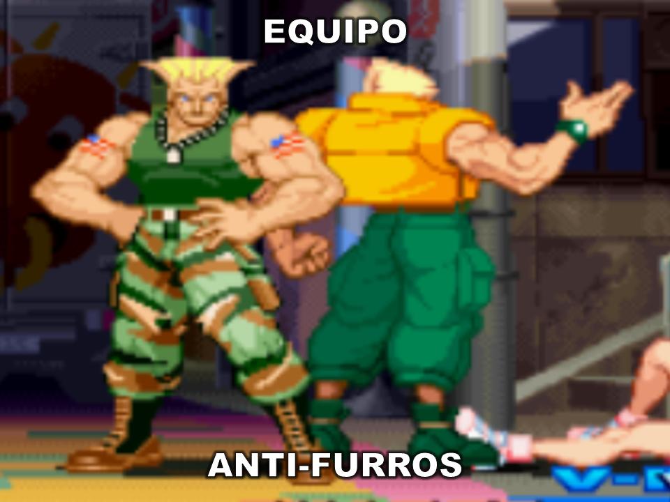 Equipo Anti-Furros B) - meme