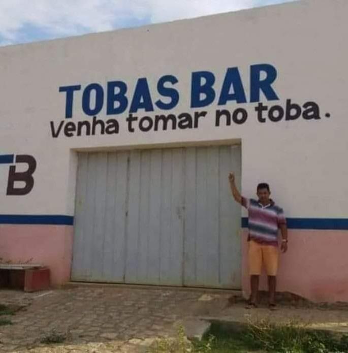 Nao precisa nem ir no bar para isso! - meme