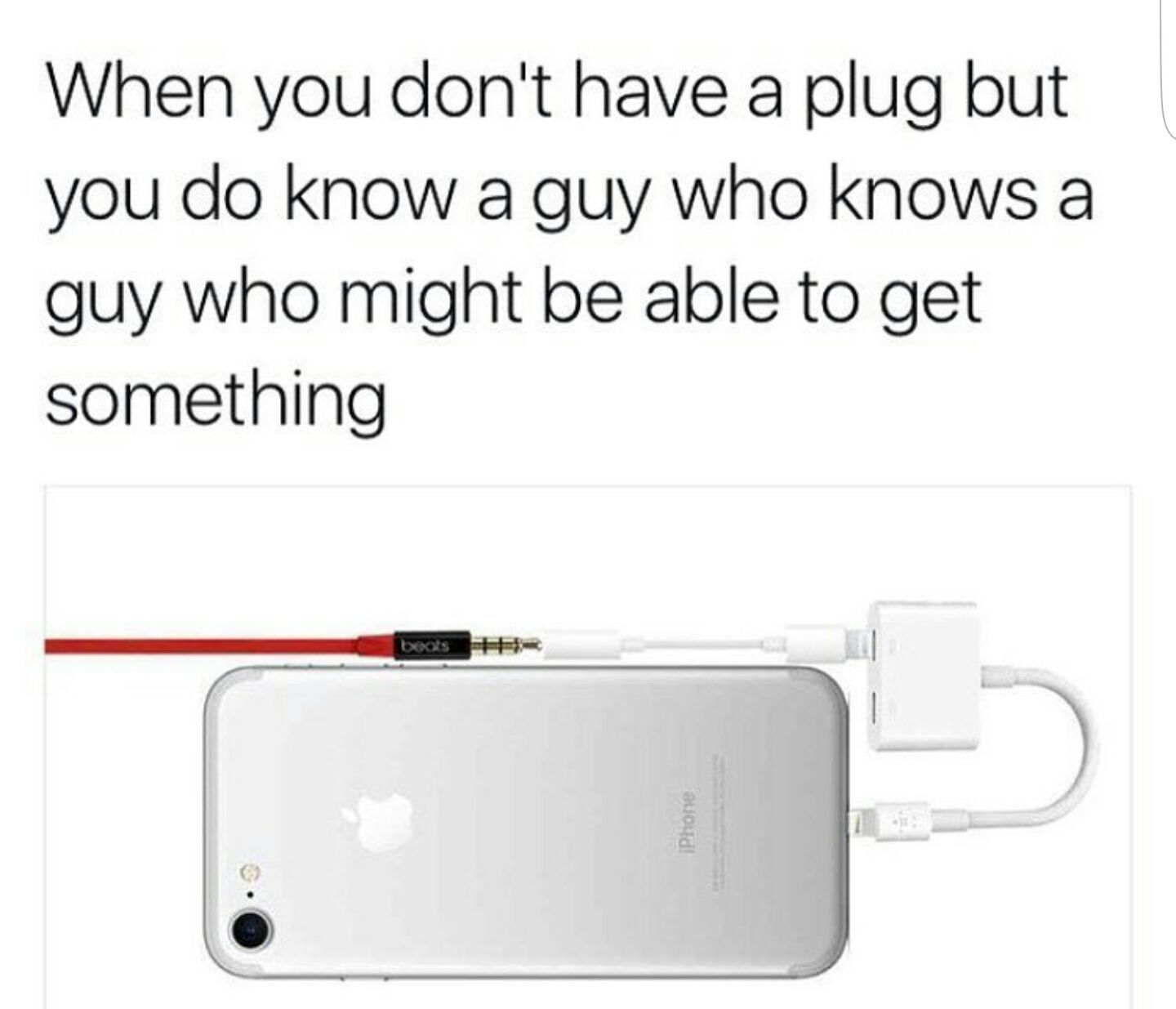 iphone users know many guys - meme