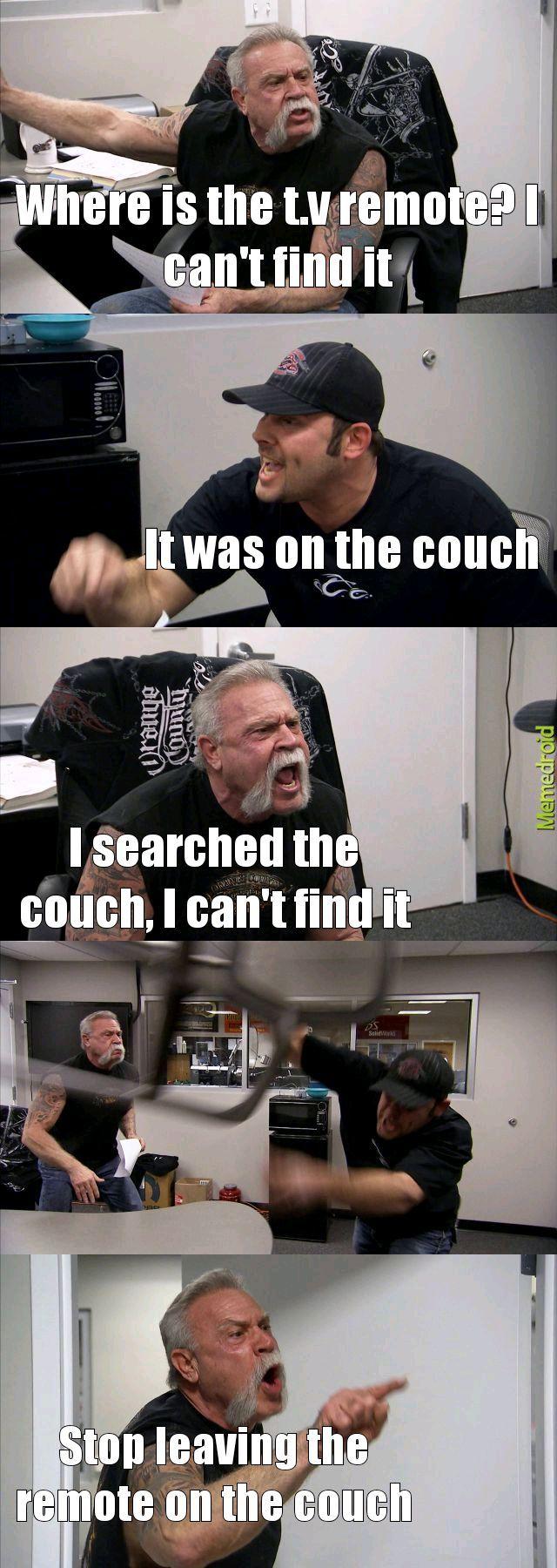 Remote - meme