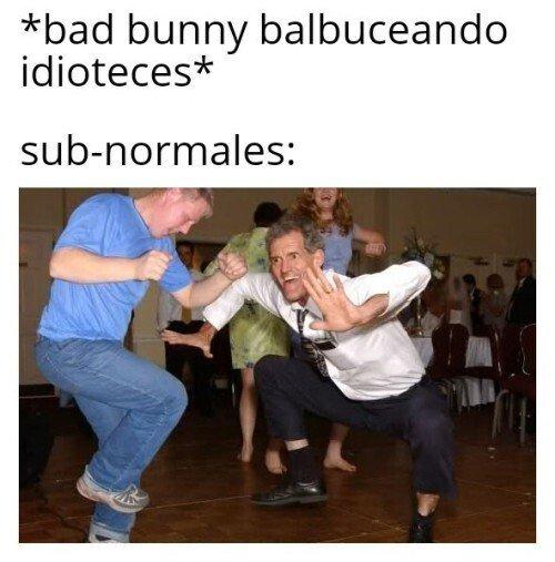 Bad bunny - meme