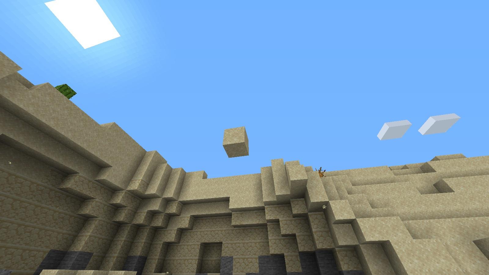 Arena flotante en minecaft 1.15.1 - meme