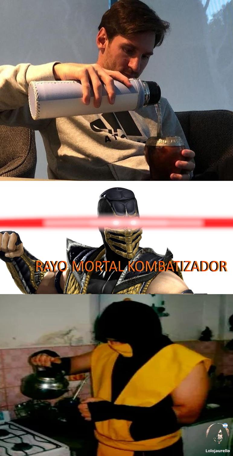 Admiren el Scorpion Matero!!! - meme