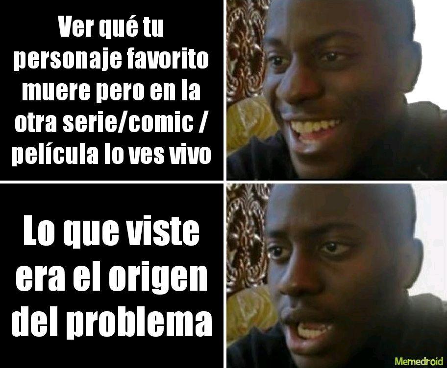 Magneto de Marvel zombies ejemplo si empezaste seas datos Marvel zombis y hay un orígen - meme