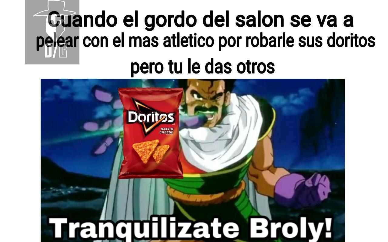 No Broly, noooo (inserte lenny) - meme