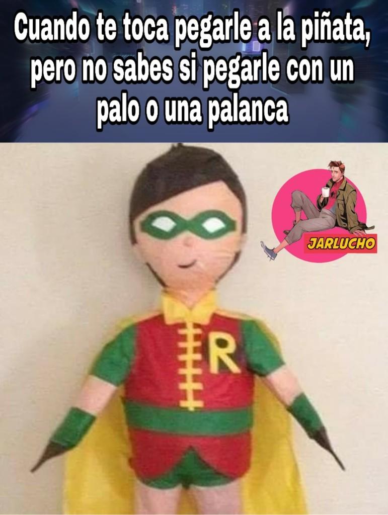 La piñata es de un primito - meme