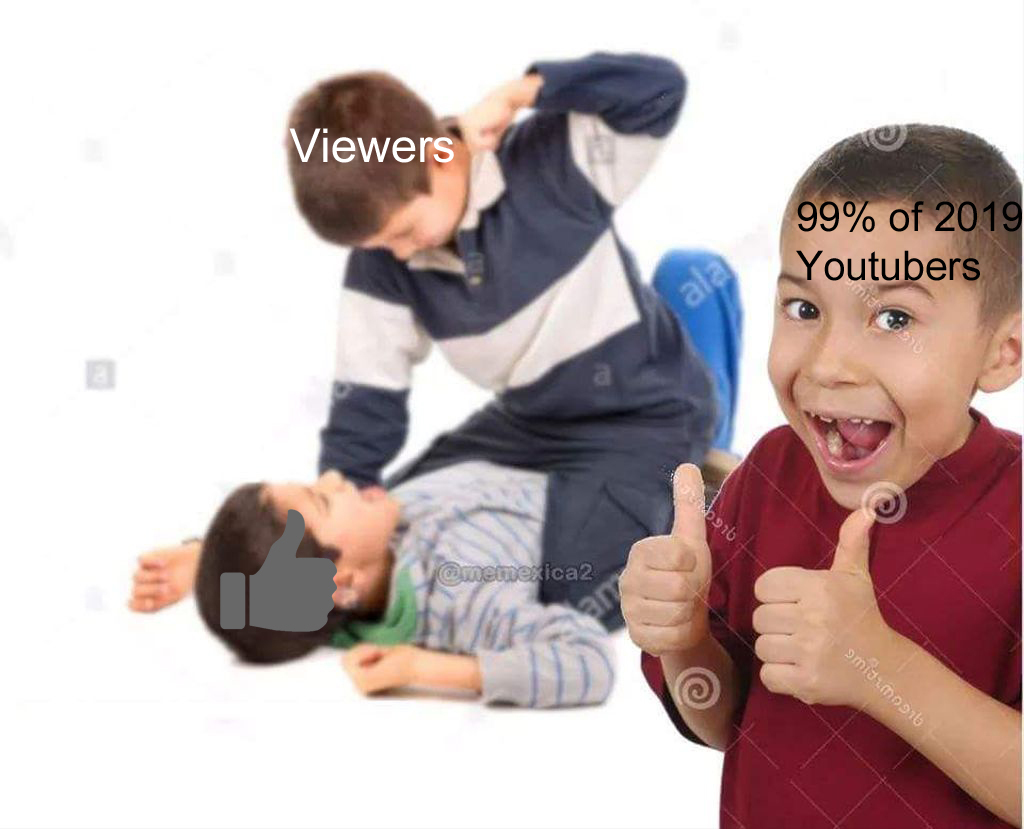 Youtubers today be like: - meme