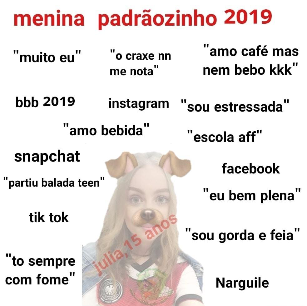 Padrão 2019 - meme