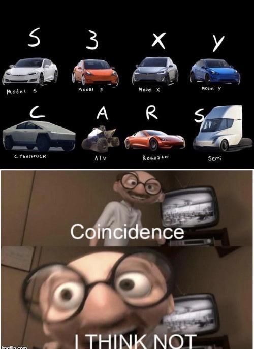Sexy cars - meme