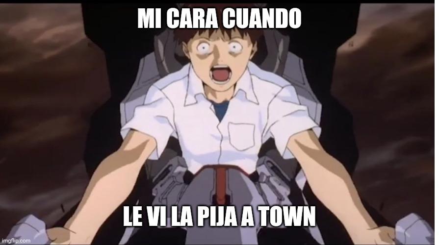 Porqie town - meme